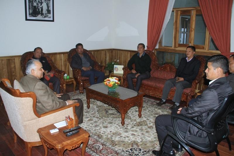 Mizoram governor leh central yma hruaitute