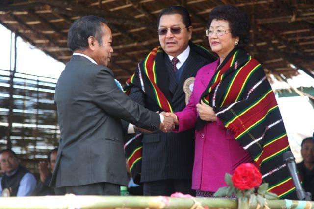Mizoram CM in SRDC hongkhia
