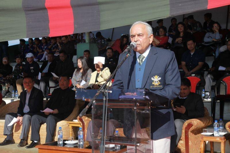 mizoram governor leh football