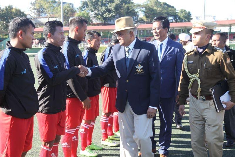 MIZORAM GOVERNOR-IN FOOTBALL TOURNAMENT KHARNA HMANPUI